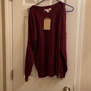 NWT Michael Kors Holiday Sweater